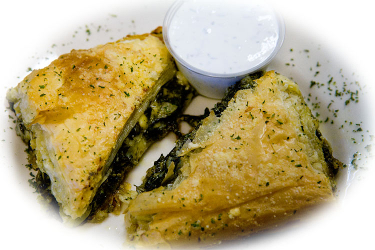 Fazzi's Own Spinach Pie